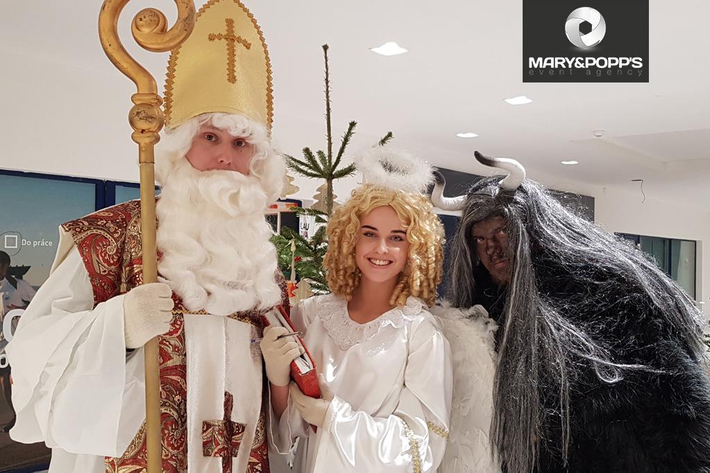 Mikuláš, čert a anděl ve firmách – ano nebo ne?